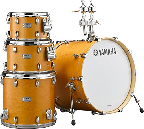 Yamaha Tour Custom Maple 4pc Standard Shell Pack, Caramel Satin