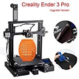 Creality Ender 3 Pro DIY 3D Printer with Removable Magnetic Bed and UL Certified Power Supply 8.6' x 8.6' x 9.8'