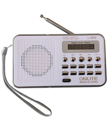 Glive's L-SS3 Portable Mini Speaker FM Radio Player with 3.5mm Jack AUX, Pendrive, Memory Card Supported