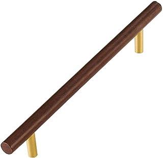 Manija de puerta de latón macizo antigua palanca de puerta anticorrosión a prueba de humedad Manija de fácil instalación ...