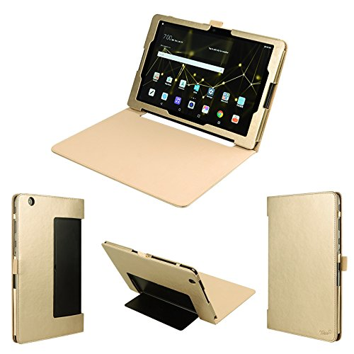 wisers LG G Pad X II 10.1UK750, G Pad III 10.110,1Zoll Tablet Case/Cover, Gold