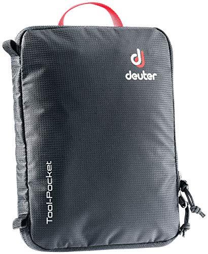 deuter Unisex-Adults-Adults Tool Pocket Werkzeugtasche, Schwarz, 24 x 19 x 2 cm