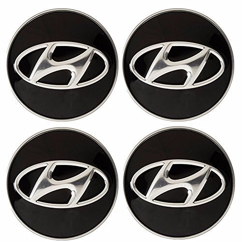 Rueda Center Hub Cap 4P para Hyundai 12–2016Azera 11–16Sonata Tucson OEM Partes