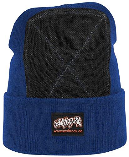 Swift Rock Classic Break Dance Headspin Beanie (Königsblau / Royal Blue)