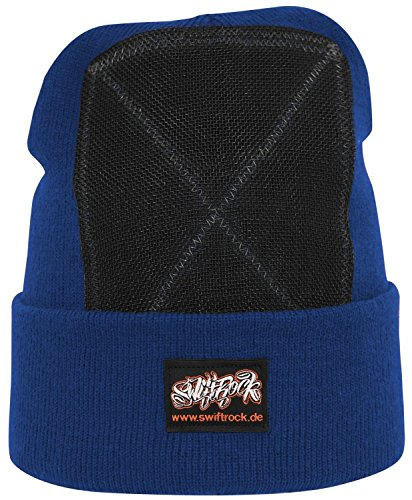 Swift Rock Classic Break Dance Headspin Beanie (Königsblau / Royal Blue)