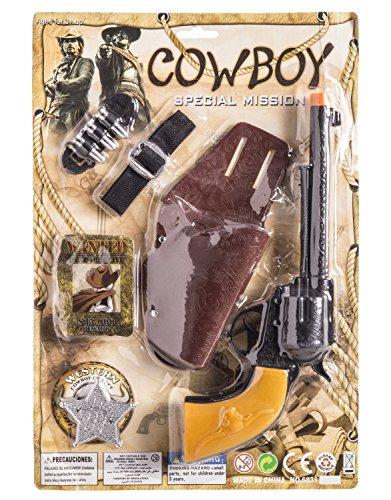 JUINSA- Pistola Vaquero con cartuchera