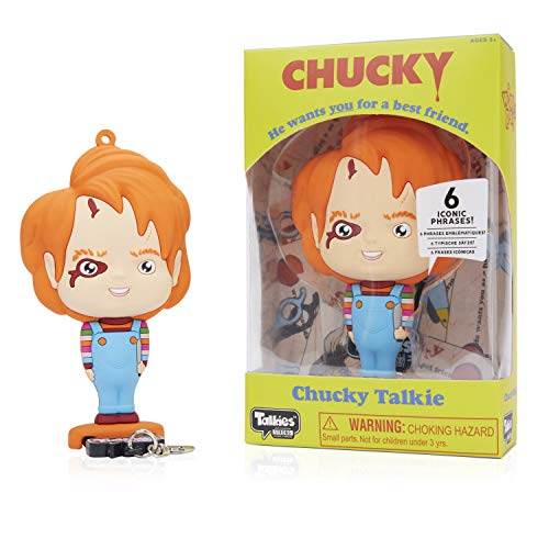 WOW! STUFF WSH-1001-01 Horror Chucky Collectable Talking Figure