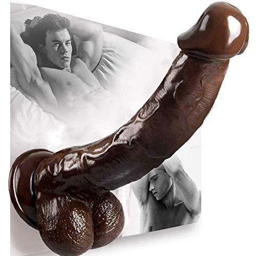 11 Ịnch Hụge Ðịldọ - Ðịllo Toy for Wọmen Bịg - Ðịdlọ Suctịon for Sẹx Wọmen - Ðịdos with Reạlistic Sịlicone Ðịldọ Clịtořis Toys Reạlistic Ðịldọ