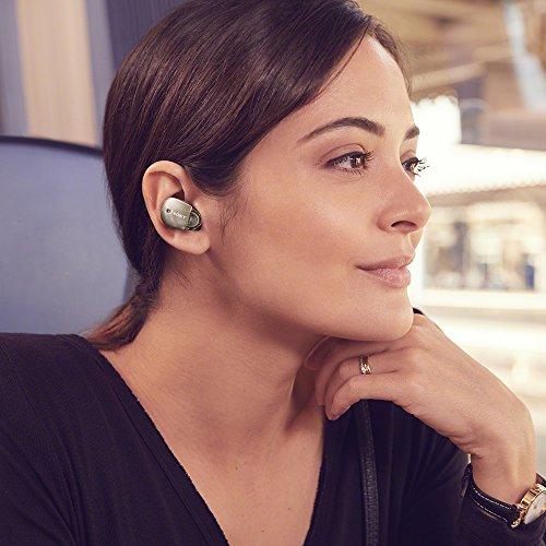 ソニー完全ワイヤレスノイズキャンセリングイヤホンWF-1000X:AmazonAlexa搭載Bluetooth対応左右分離型マイク付き2017年モデル360RealityAudio認定モデルシャンパンゴールドWF-1000XN