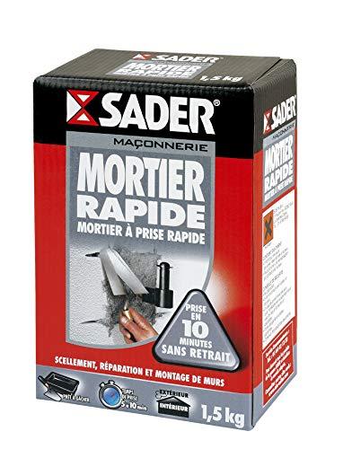 Sader Mortier Rapide 1.5kg (Boîte Carton)