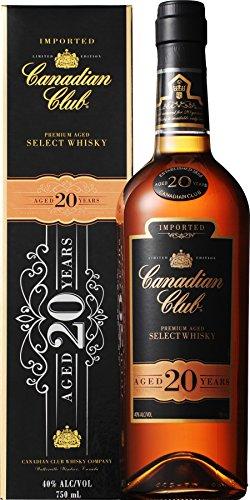 カナディアンウイスキー カナディアン クラブ 20年 [ ウイスキー カナダ 750ml ]