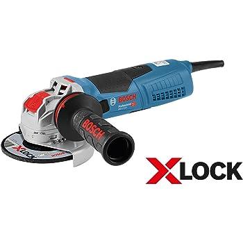 Bosch Professional GWX 17-125 - Amoladora angular (1700 W, X-LOCK ...