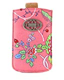 Oilily Summer Romance Smartphone Pull Up Hülle Coral