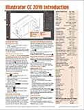 Adobe Illustrator CC 2019 Introduction Quick Reference Guide (Cheat Sheet of...