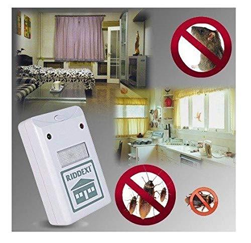 Repelente electrico alta potencia contra insectos y ratones riddex