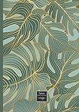cahier petit carreaux: A4-(21x29,7cm)-grand format-96 pages- couverture fleurs couleurs 70's-livre journal de notes pour: école, université, travail, ... journal de bord-enfants-adultes