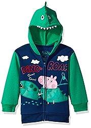 6. Peppa Pig George Dinosaur Toddler Hoodie