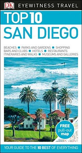 Preisvergleich Produktbild DK Eyewitness Top 10 San Diego (Pocket Travel Guide)