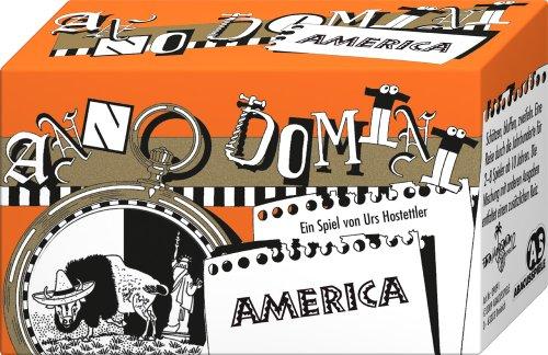 ABACUSSPIELE 09091 - Anno Domini - America, Quizspiel, Schätzspiel, Kartenspiel