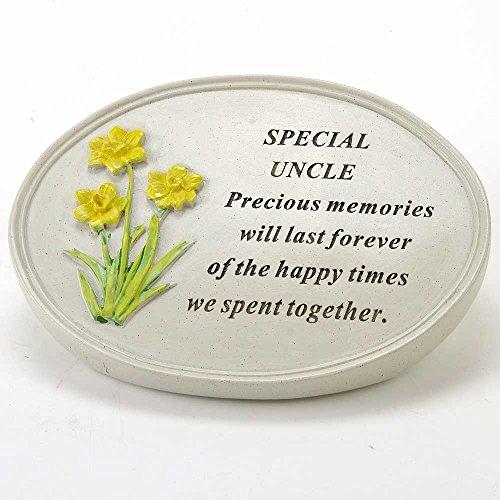 Angraves Special Uncle Flower Graveside Memorial Grave Plaque Ornament Decoration