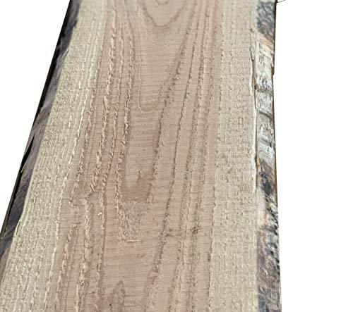 Bonanza Zaun Lärche Bohle 12,58€/m Baumscheibe unbesäumt Massivholz Zaunbretter (150, Natur)