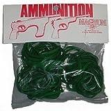 Magnum 12 Rubber Band Gun Ammo Pistol Ammo - Green - Size 30 - 1-oz. Bag Rubber Band Gun Ammo