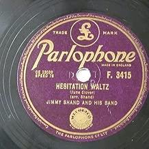 78rpm JIMMY SHAND hesitation waltz / scottish waltz
