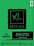 Canson XL Series Recycled Bristol Paper Pad, Dual Sided