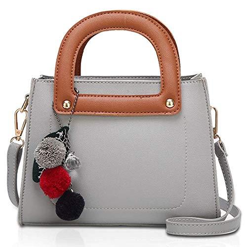 SYXX Die Neue europäische und amerikanische Artschulterhandtasche, stilvolle Persönlichkeit Schulter Umhängetasche, Strukturiertem Leder-Handtasche, einfache beiläufige Einkaufen Handtasche