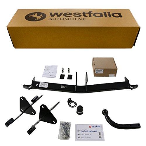 Westfalia Starre Anhängerkupplung für Fiat 500 L (BJ 10/2012 - 06/2017) im Set mit...