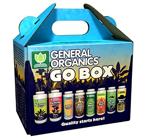 General Hydroponics GH5100 General Organics Go Box GH,Black