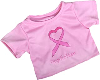 Hugs for Hope T-Shirt Teddy Bear Clothes Fits Most 14