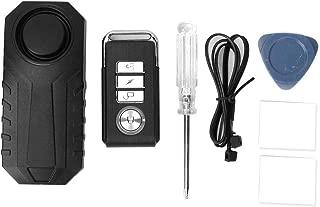 Anti-Theft Alarm & Manual, Wireless Motion Detect Alarm Anti-Theft Burglar Alarms for Bicycle Motorcycle Car Vehicles