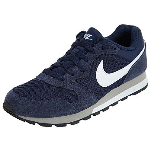 Nike Herren MD Runner 2 Dunkelblau Mesh Sneaker 43