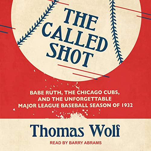 The Called Shot audiobook cover art