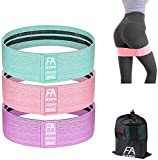 Exercise Booty Bands, Non Slip Resistance Bands for Legs and Butt Exercises Training Bands Fabric Workout Bands for Women [2020 Upgrade]