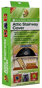 Duck Brand Attic Stairway Cover