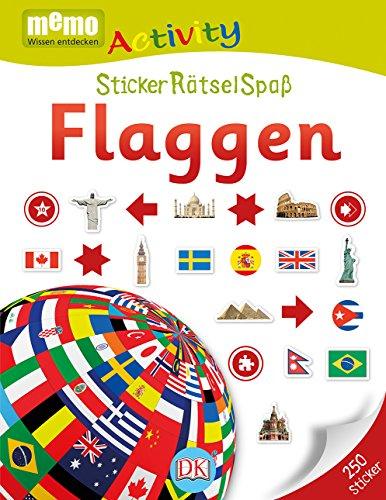 memo Activity. Flaggen: StickerRätselSpaß