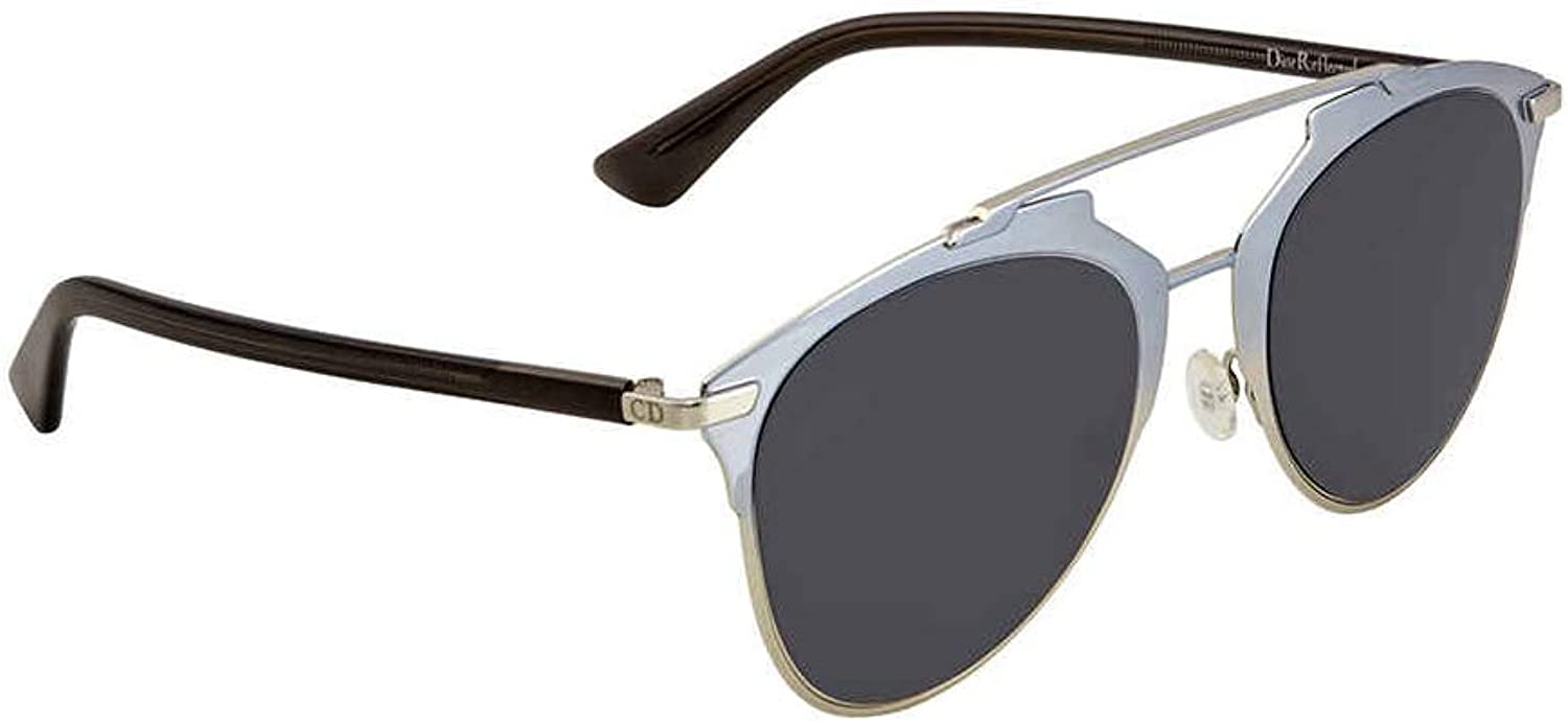 Dior Reflected TK1IR Light bluee Reflected Round Sunglasses