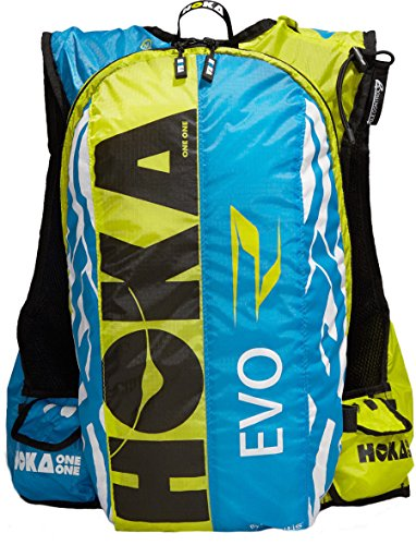 HOKA One One EVO Race 17L mochila Negro, Azul, Verde - Mochi