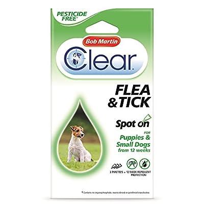 Bob Martin Spot On Ticks & Fleas For Small Dogs & Puppies by Bob Martin