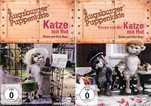 Augsburger Puppenkiste: Katze mit Hut + Neues von der Katze mit Hut [2er DVD-Set]