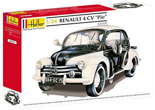 Heller - 80764 - Maqueta para Construir - Renault 4 CV Pie - 1/24