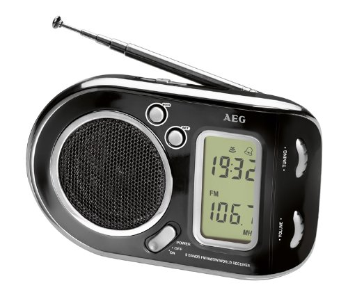 AEG WE 4125 - Radio multibanda, color negro