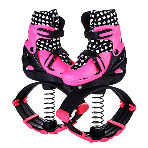 Saltar Rebotar Calzado Deportivo Botas De Saltos Unisex Rebote Deportes Al Aire Libre,Pink,S