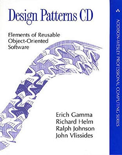 Design Patterns CD, 1 CD-ROMElements of Reusable Object-Oriented Software. Needs a Java-comliant Web-Browser (Addison-Wesley Professional Computing)
