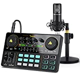 Audio Interface with DJ Mixer and Sound...