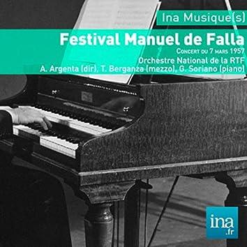 Festival Manuel de Falla, Orchestre National de la RTF