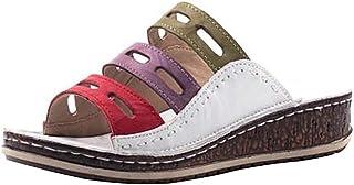 Jodimitty Badslippers voor dames en heren, slippers, slippers, slippers, uniseks, effen sandalen voor binnen en buiten, wi...