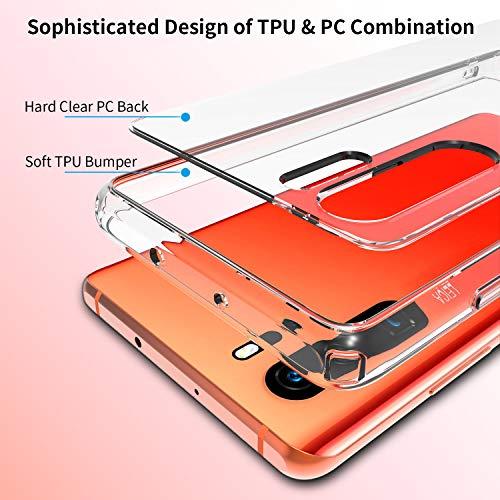 UNBREAKcable Huawei P30 Pro Hülle [stoßdämpfend, Nicht vergilbend] kristallklarer, weicher TPU Handyhülle mit Harter Rückseite aus PC für das Huawei P30Pro – Transparent - 3